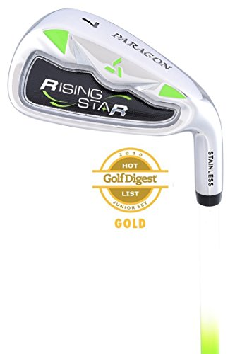Paragon Rising Star Kids Junior #7 Iron Ages 8-10 Green / - Green Club Kids Golf
