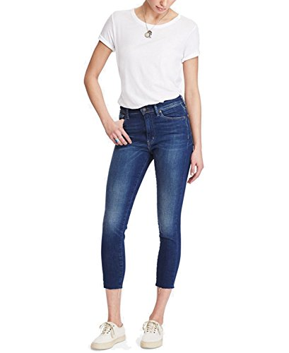 Polo Ralph Lauren Denim & Supply Ralph Lauren Hendrix High-Rise Skinny Jeans (Med Blue, 24)