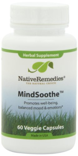 Les remèdes indigènes MindSoothe Capsules, 60-comte bouteille