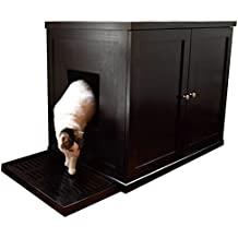 The Refined Feline Refined Litter Box, Large, Espresso
