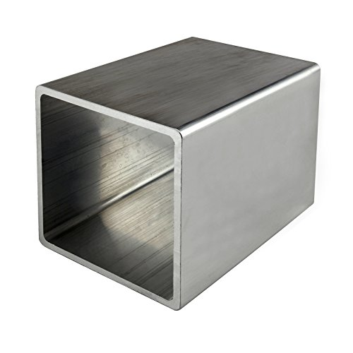 "80/20 Inc., 8126, Structural Shape, 3"" x 3"" Square Tube x 48"" Long Mill Finish"
