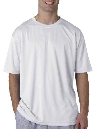 UltraClub Herren T-Shirt Gr. XXXX-Large, weiß