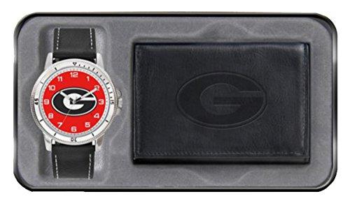 NCAA Mens Watch Wallet Set