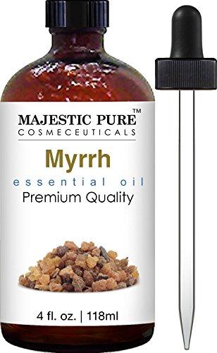 Myrrh Essential Oil From Majestic Pure, 4 Fluid Ounce