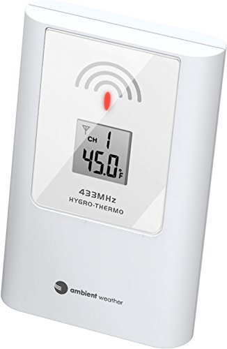 Ambient Weather TX-8340 Wireless Thermometer for WS-8600 Wireless Weather Station ()