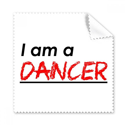 Quote I Am A Dancer Glasses Cloth Cleaning Cloth Gift Phone Screen Cleaner 5pcs