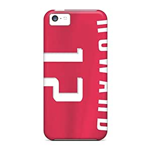 Fashion Tpu Case For Iphone 5c- Houston Rockets Defender Case Cover