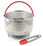 Taskett Vegetable Steamer Basket compatible with Instant Pot 6...