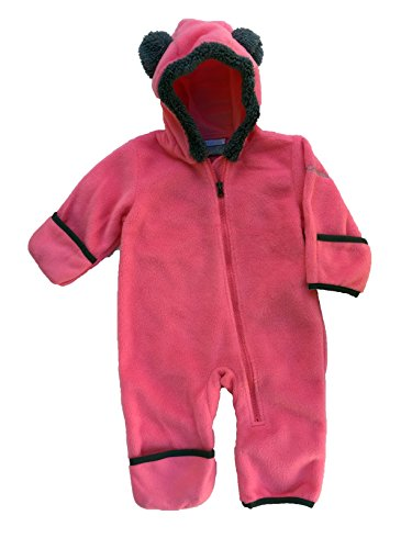 Columbia Infant Baby Tiny Bear II Fleece Bunting (Afterglow (601), 3-6 Months) by Columbia