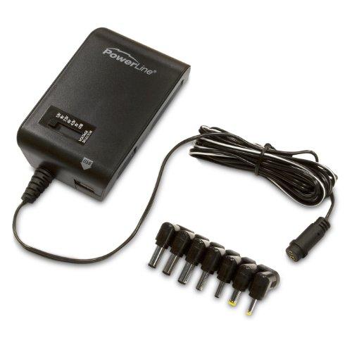 PowerLine 90367 PowerLine 1300 mAh Universal Power Adapter with USB