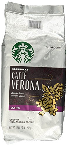 Starbucks Caffe Verona Ground Coffee, - Mall Online Cheap