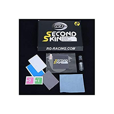R&G RACING Kit de Protection Tableau de Bord Second Skin Transparent Yamaha YZF-R1/R6