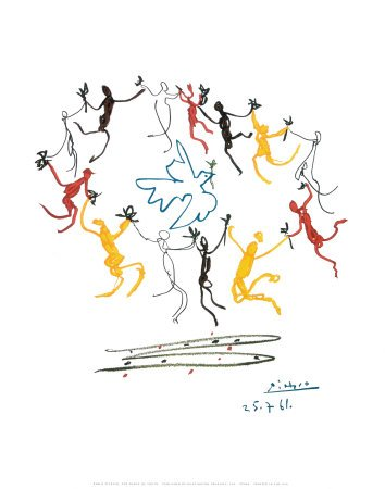 The Dance of Youth Art Poster Print by Pablo Picasso, 11x14 by Poster Revolution (Image #1)