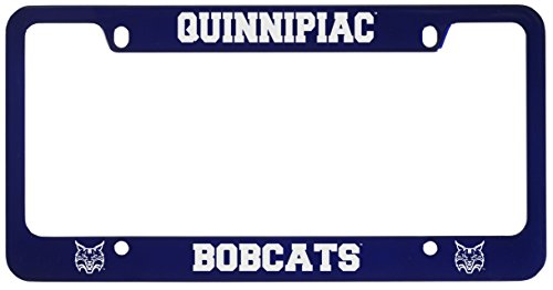 Quinnipiac University -Metal License Plate Frame-Blue