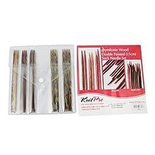Knit Pro Symfonie Wood Double Pointed (15cm) Sock Needle Set