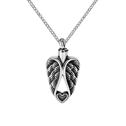 urn necklace angel wings - 6