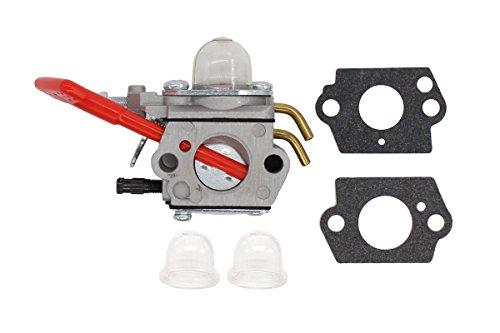 Carburetor Carb for Homelite Blower String Trimmer BVM160 UT-08069A/B UT-08091 D25MHV UT-08067A/B D30MHA UT-08066A/B D30MHV UT-08057A/B HB25250 UT-08071-AR HB30160 UT-08070AR I25MHV UT-08059A/B I30MHV