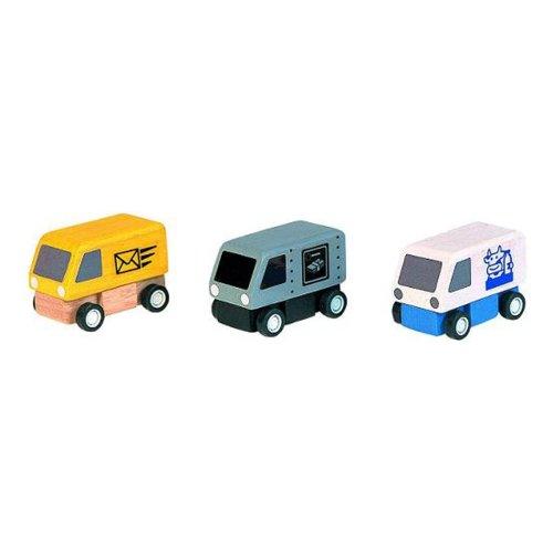 Plan Toys Delivery Vans (1 Set @ 3 - Three Plans