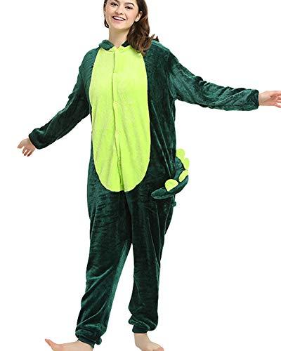 Cosplay Halloween Pigiama Uomo Flanella Notte Camicie Jumpsuits 01 Carnevale Costume Donna Animale Da AExqFfwg
