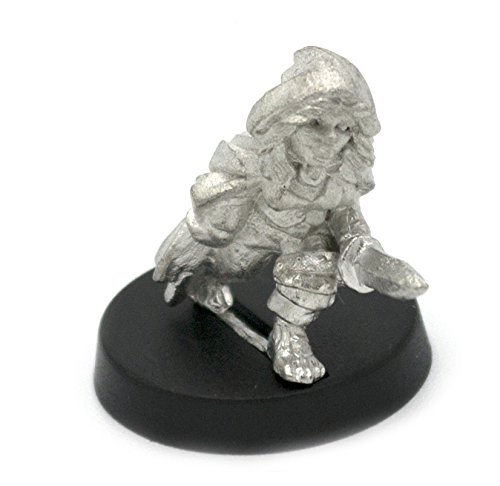 Stonehaven Halfling Rogue Miniature Figure (for 28mm Scale Table Top War Games) - Made in USA