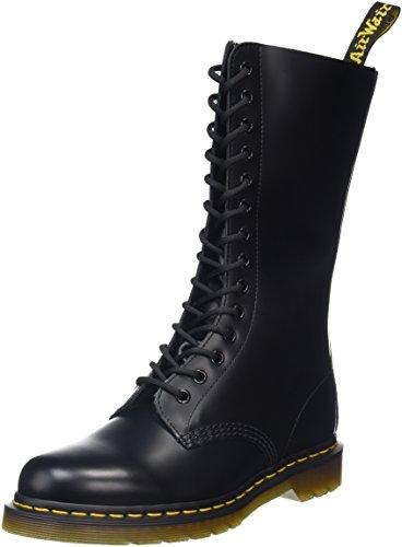 Color Negro Dr Botas Black militares Martens 1914Z Smooth Negro Ix0qFwY0r