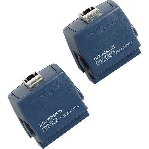 Fluke Networks DTX-PC6S Patch Cord Test Adapter Set for Category 6 Patch Cords by Fluke Networks