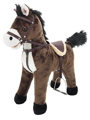 Sweety Toys 5062 Stehpferd Plüsch Pferd Chocolate