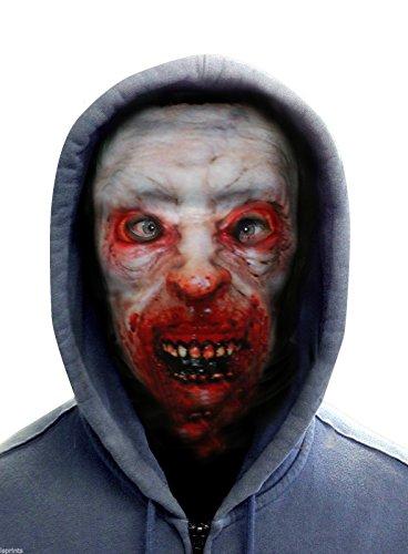 FACE SKINZ - BLOOD CRAZED ZOMBIE Lycra Face Mask ()