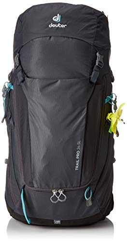 Deuter Trail Pro 34 SL Backpacking Backpack, Graphite/Black ()