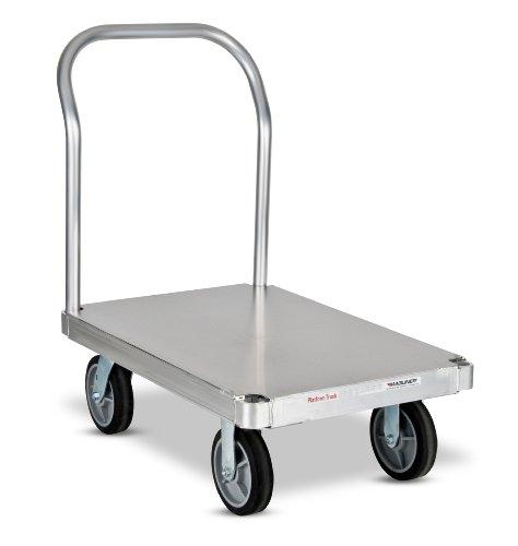 Magline-PTK2436S1-Q-Aluminum-Smooth-Deck-Platform-Truck-1600-to-3000lbs-Capacity-36-Length-x-24-Width