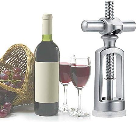 YXFYXF Sacacorchos Restaurante KTV Bar Herramientas Botella de Vino Abrelaje Acero Inoxidable Sacacorchos de sacacorchos Casero Durable Vintage Precio P