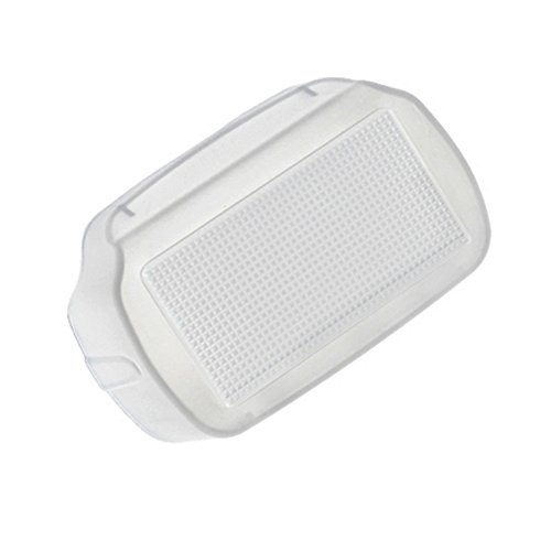 Pixel White Flash Bounce Dome Diffuser for Canon Speedlight 600EX-RT Flash