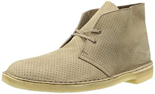 Clarks Men's Desert Chukka Boot, Taupe Perforated, 9.5 M US (B008JGBWM2) | Amazon price tracker / tracking, Amazon price history charts, Amazon price watches, Amazon price drop alerts