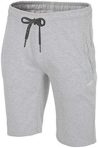 ocio pantalones DE Skmd001 el verano de de cortos bolsillo deportivos SS18 pantalones Gris correr con para hombres 4 hombres claro los de para Tndqpd