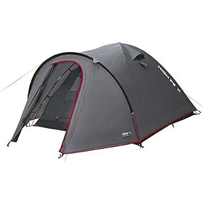 High Peak Kuppelzelt Nevada 3, Campingzelt mit Vorbau, Iglu-Zelt für 3 Personen, doppelwandig, wasserdicht…