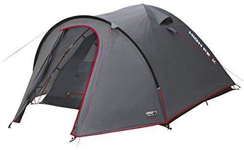 41iSou3%2BBEL High Peak Kuppelzelt Nevada 3, Campingzelt mit Vorbau, Iglu-Zelt für 3 Personen, doppelwandig, wasserdicht…
