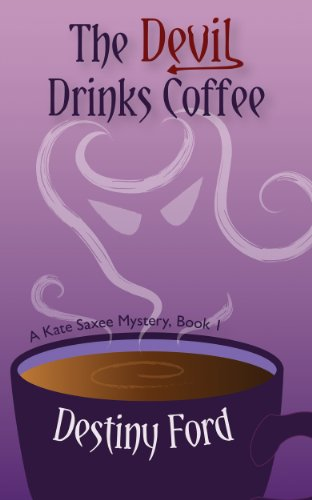 book cover of The Devil Drinks Coffee
