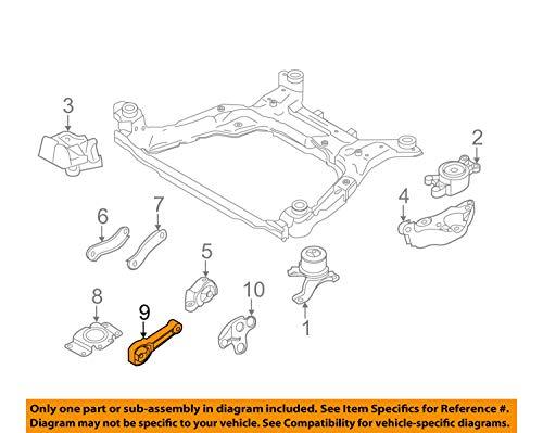 (Genuine Volvo 31430441, Upper Torque Rod (S80,V70,XC70,XC60))