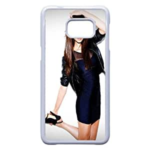 Nina Dobrev-007 For Samsung Galaxy S6 Edge Plus Cell Phone Case White Cover xin2jy-4348809