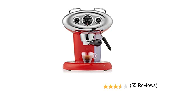 Francis Francis X7.1 Iperespresso Machine, Red by Francis Francis for illy: Amazon.es: Hogar