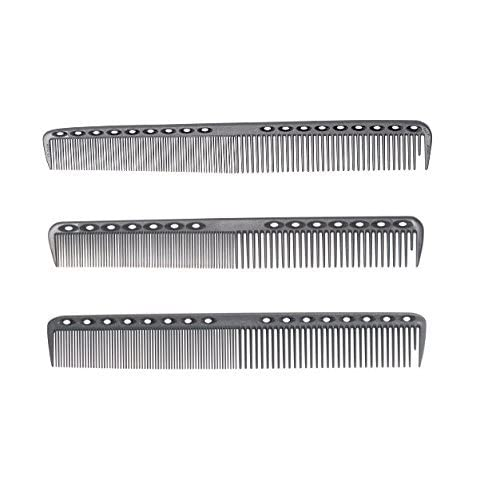 1907™ (Original Series) Cutting Comb - Get all 3 combs, Antistatic, chemical resistant, heat resistant, lightweight, non slip grip, textured vents, sectioning, wide teeth, narrow teeth, precision, wet hair, dry hair, op