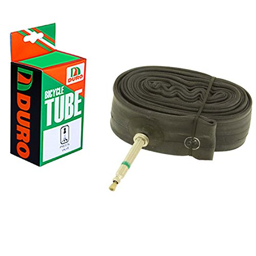 Duro Bicycle Tube 700 x 40c/42c (48mm) Standard French/Valve .