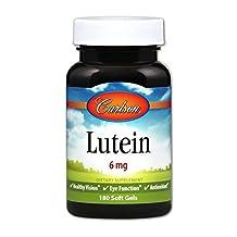 Carlson Labs - Lutein 6 mg. - 180 Softgels