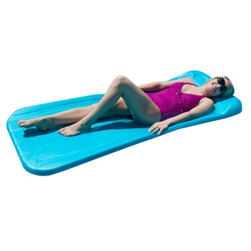 Aqua Cell Deluxe Cool Pool Float, Aqua, 72 x 1.75-Inch Thick by Aqua Cell