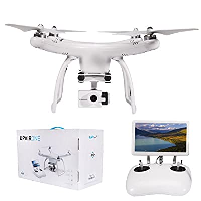 UPair 4K Quadcopter Drone w/ HD Video Camera ,7-Inch Large FPV Screen Live Video,Intelligent Return For Aerial Photography,Beginner Drone from Shenzhen Yiyang Dianzi Shangwu Co.,Ltd