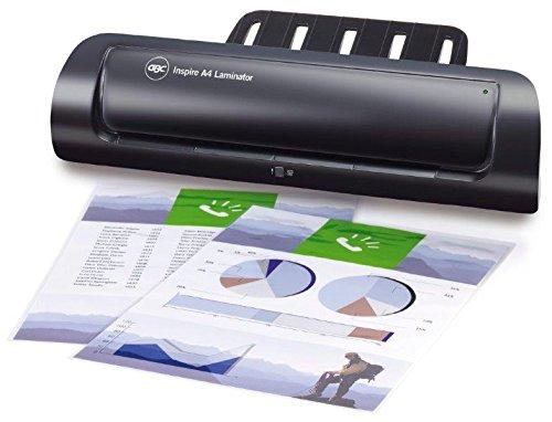 BC Inspire A3 - Plastificadora (tamaño A3, con interruptor), color negro: Amazon.es: Oficina y papelería