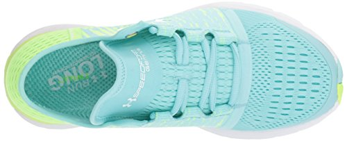 Graphic Shoes Under Speedform Quirky Running Gemini Lime 3 Infinity Blue Armour Women's 77Xw4p