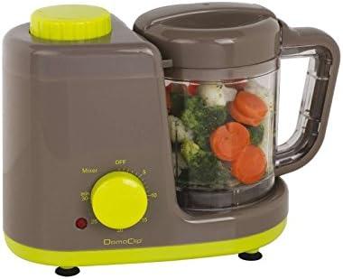 Cocina al vapor para bebés, para preparar alimentos para bebés, para cocinar al vapor (vapor, temporizador, batidora, batidora, batidora de smoothies, máquina de cocina para bebé): Amazon.es: Hogar