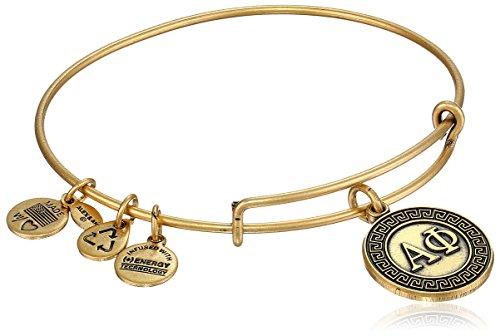 Alex and Ani Sorority Alpha Phi Expandable Wire Bangle Bracelet
