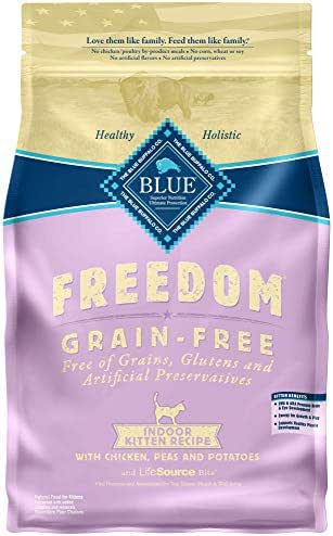 Cat Food: Blue Buffalo Freedom Indoor Kitten